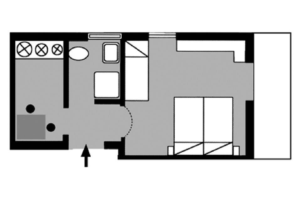 Apartment type F2