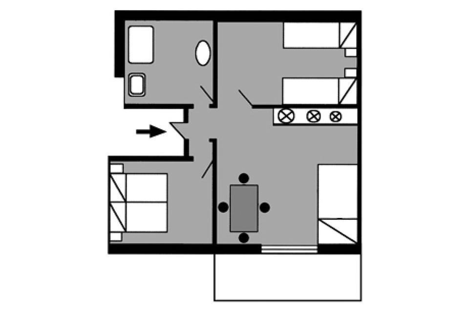 Appartamento tipo B1